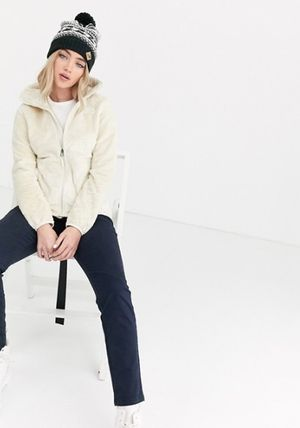 THE NORTH FACE アウターその他 The North Face Osito jacket in white♪(5)