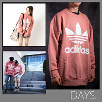 adidas originals【関税・送料込】TREFOIL・BIG CREW NECK SWEAT