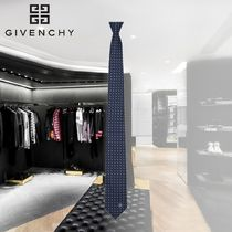 【GIVENCHY】シルクジャカードタイ