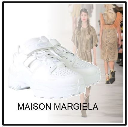 【MAISON MARGIELA】OVERSIZE LEATHER SNEAKERS