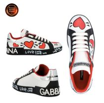 ★Dolce&Gabbana★ 'Hearts' sneakers 関送込