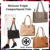 セール 新作 Tory Burch McGraw Triple Compartment Tote