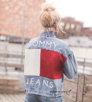 【入手困難】TOMMY JEANS FLAG LOGO DENIM JACKET