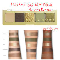Natasha Denona★発色抜群★Mini Gold Eyeshadow Palette