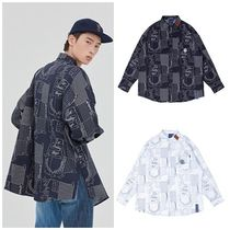 日本未入荷ROMANTIC CROWNのOUTLINE GRAPHIC SHIRT 全2色