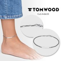 TOM WOOD/トムウッド Curb Anklet ID