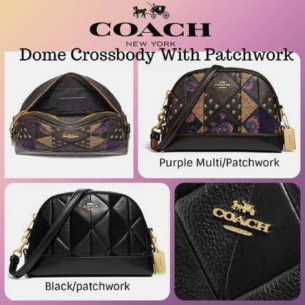 ★COACH★ドーム・クロスボディDome Crossbody with Patchwork☆