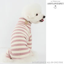 AMYLOVESPET★ B-TURTLENECK ALL -IN -ONE PINK