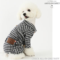 AMYLOVESPET(エイミーラブズペット) ★ Check All-in-one Navy