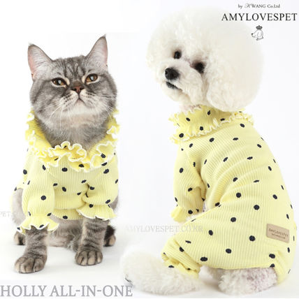 AMYLOVESPET 洋服 AMYLOVESPET(エイミーラブズペット) ★Holly All-in-one Yellow