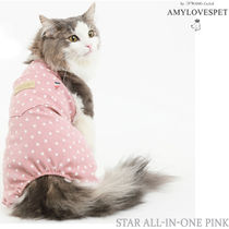 AMYLOVESPET(エイミーラブズペット)★Star All-in-one Pink