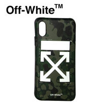 【Off-White】☆新作☆ CAMO ARROW IPHONE X COVER