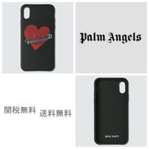 [Palm Angels] Pin My Heart iPhone XSケース
