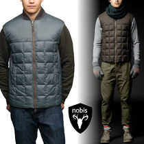NOBIS【ノビス】 注目ブランド!! Paavo Reversible Quilted Vest