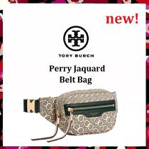 セール新作 Tory Burch Perry Jacquard Belt Bag ウエストポーチ