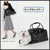 ★CHARLES AND KEITH☆PET CARRIER ペットキャリヤー 7KGまで