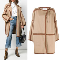 C475 KNITTED WRAP COAT