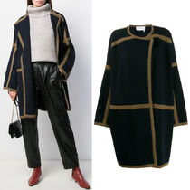 C479 KNITTED WRAP COAT