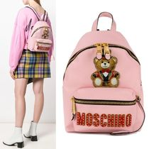 【Moschino】Teddy Bear Circus バックパック ピンク