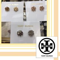 Tory Burch☆ SMALL T LOGO STUD ピアス☆送料・関税込み