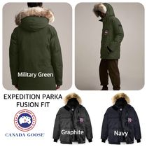 CANADA GOOSE メンズ ダウン EXPEDITION PARKA FUSION FIT 細身