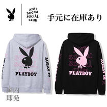【国内即発】入手困難Anti Social Social Club×Playboy Hoodie
