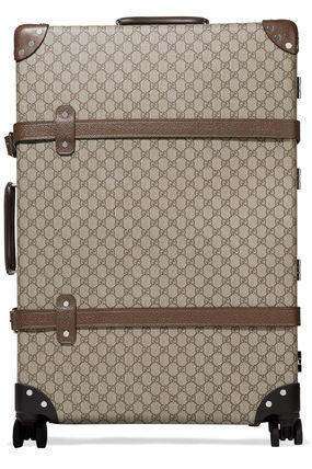 GUCCI スーツケース 関税込◆+ Globe-Trotter large leather-trimmed printed(2)