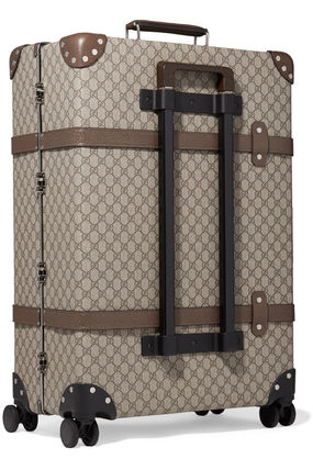 GUCCI スーツケース 関税込◆+ Globe-Trotter large leather-trimmed printed(3)