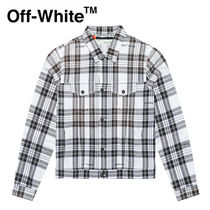 【Off-White】☆新作☆CHECK OVER JACKET