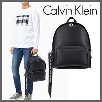 Calvin Klein★Logo banner campus backpack★受取安全発送