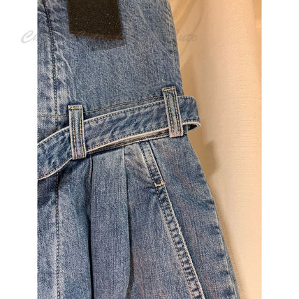 LOEWE デニム・ジーパン 【19AW NEW】LOEWE_women /Belted Pleated Oversize Jeansデニム(5)