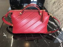 VIP SALE!!【FENDI】'BY THE WAY' ボストン エンボス (Red)
