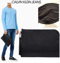 CALVIN KLEIN JEANS BACK TO SCHOOL ナイロン クラッチバッグ