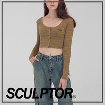 SCULPTOR☆スカルプター☆Button-Down LS Top☆トップス☆全2色