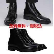 SAINT LAURENT★新作★ARMY BOOTS IN SHINY LEATHER