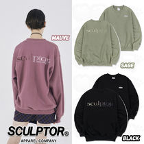 ★SCULPTOR★19FW Unisex Gradation Retro Sweatshirt(全3色)