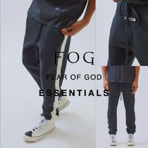 FOG 19FW Essentials Side Stripe Sweatpants ブラック