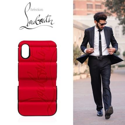 Christian Louboutin スマホケース・テックアクセサリー 【Christian Louboutin】 Red Runner Case Iphone X/Xs ケース