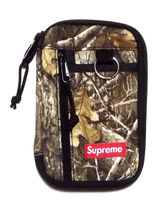【Supreme】SMALL ZIP POUCH リアルツリーカモ 送料無料【FW19】