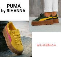 【Puma】コラボ 全二色 Fenty Cleated Creeper Suede 完売前に♪