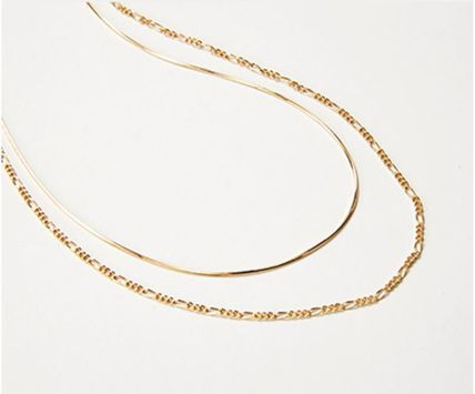 Hei ネックレス・ペンダント 日本未入荷Heiのtwo lines chain necklace 全2色(4)