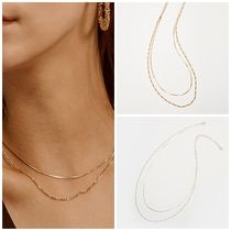日本未入荷Heiのtwo lines chain necklace 全2色
