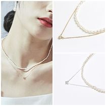 日本未入荷Heiのmini pearl layered necklace 全2色