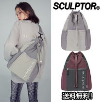 日本未入荷 秋冬新作 [SCULPTOR] REFLECTIVE LOGO SLING BAG 2色