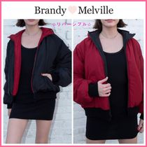 19-20AW!!  ☆Brandy Melville☆ FAITH PUFFER HOODIE JACKET