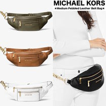 【MICHAEL KORS】人気ウェストパック●Medium Leather Belt Bag