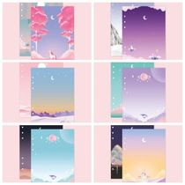 【SECOND MANSION】 [A5] Diary refill inlay MOONLIGHT  2SET