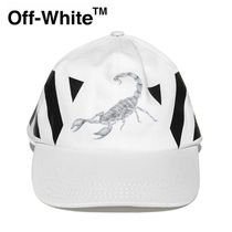 【Off-White】☆人気☆DIAGONAL OTHELO SCORPION CAP