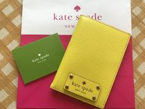 即発★Kate Spade★Wellesley Passport Holder★Sunshine/黄色