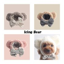 【Monchouchou】Icing Bear★プレゼントBOX付★4color★3size